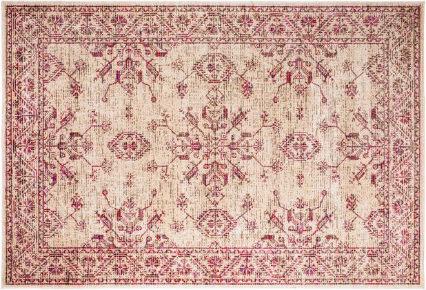 Andiamo In- & Outdoorteppich Bonnie rosa gemustert 120 x 170 cm