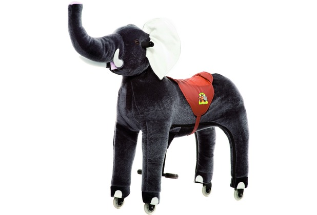 Animal Riding Elefant Sultan small, für Kinder von 3-5 Jahren (10 Kg - 40 Kg)