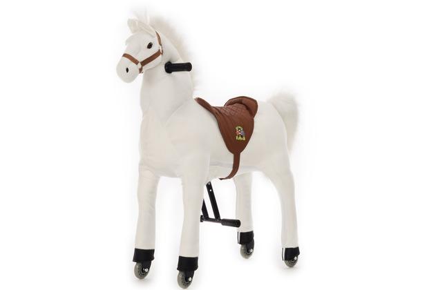 Animal Riding Pferd Snowy small, für Kinder von 3-5 Jahren (10 Kg - 40 Kg)