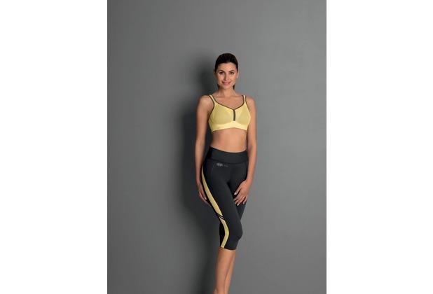 Anita active sport tights sport tights yellow/anthrazit L