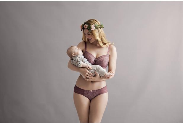 Anita Maternity Bügel-Still BH Fleur berry 65C