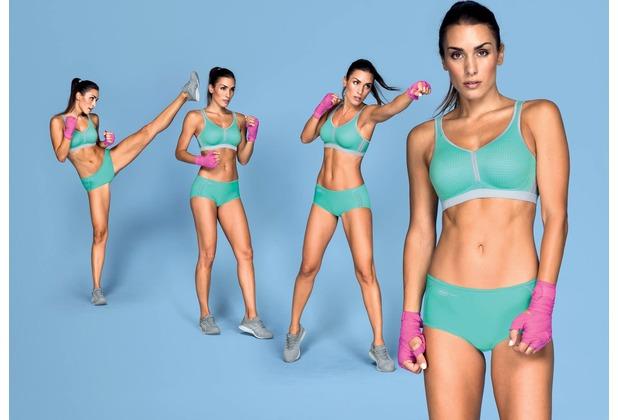 Anita active performance Sport-BH pool blue/metallo 70A