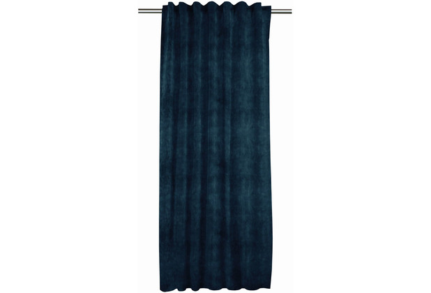 APELT Basic Ösenschal dunkelblau 135x245 cm