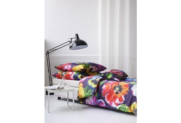 APELT Bettwäsche Annika Coloured Nights multi/lila/gelb 40x80 cm