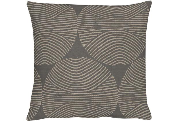 APELT Circle Loft Style Kissenhülle braun 40 cm x 40 cm