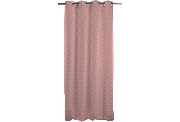 APELT Easy Elegance Ösenschal 135x245 pink