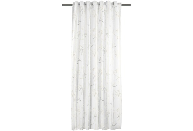 APELT Easy Living Universalband weiß/grau/natur 121x245 cm