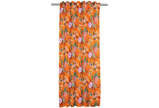 APELT Floral Living FVH.m. Universalband orange/bunt 134x245 cm