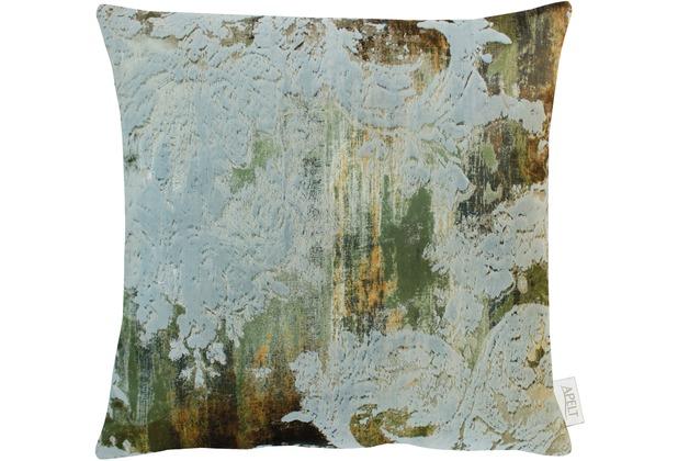 APELT Herbstzeit Kissenhülle grün 46x46, Barock