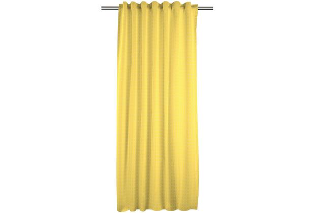 APELT KIDS Collektion FVH.m.Universalband gelb/stein 134x245 cm, schlicht