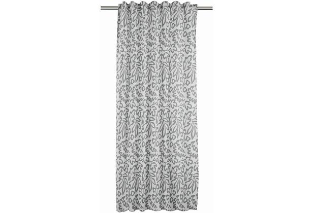 APELT KIDS Collektion FVH.m.Universalband grau/anthrazit 134x245 cm, PFlanzenmuster