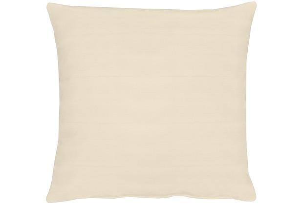 APELT Kissenhülle Uni Basic, beige 40 cm x 40 cm