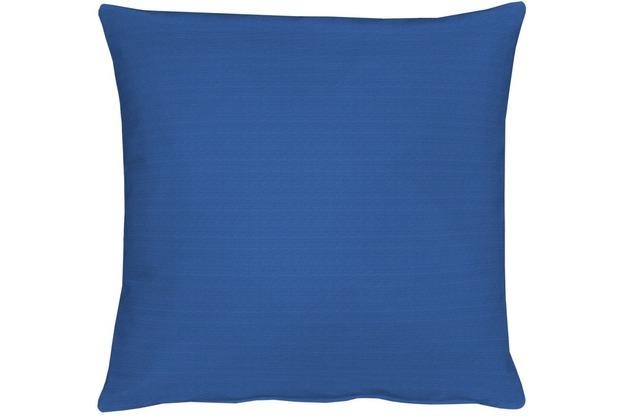 APELT Kissenhülle Uni Basic, blau 40 cm x 40 cm