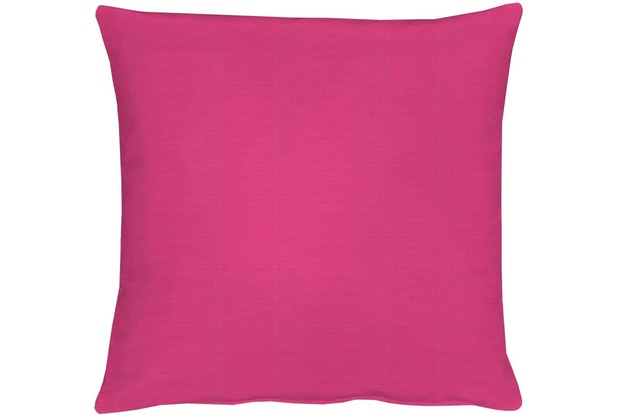 APELT Kissenhülle Uni Basic, pink 40 cm x 40 cm