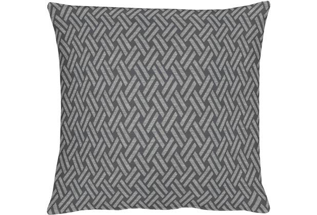APELT Lodge Loft Style Kissenhülle grau 40 cm x 40 cm