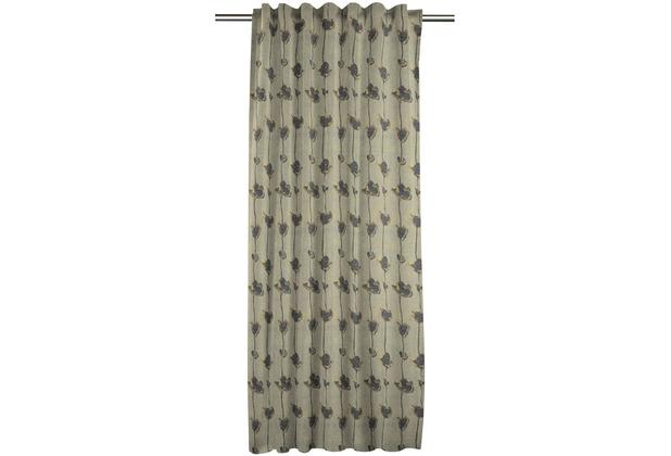 APELT Loft Style FVH.m.Universalband grau/anthrazit/beige 134x245 cm