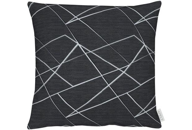 APELT Loft Style Kissen anthrazit 45x45 cm