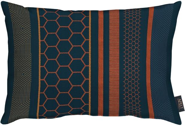 APELT Loft Style Kissen blau 35x50