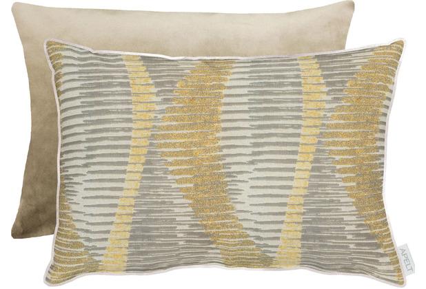 APELT Loft Style Kissen natur/beige 35x50 cm