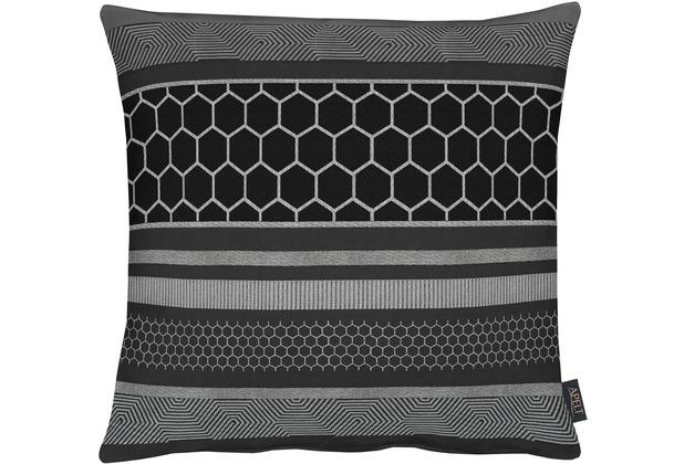 APELT Loft Style Kissen schwarz 45x45