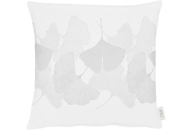 APELT Loft Style Kissen weiß 45x45
