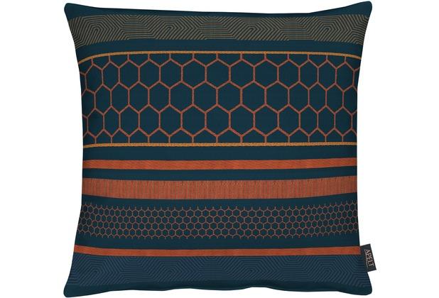 APELT Loft Style Kissenhülle blau 46x46