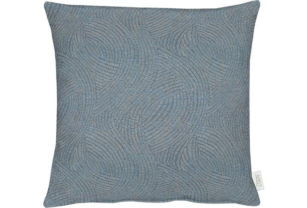 APELT Loft Style Kissenhülle hellblau 49x49