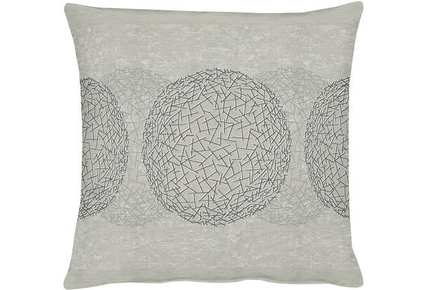 APELT Loft Style Kissenhülle leinen/graubeige 46x46