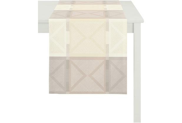 APELT Loft Style Läufer beige 44x140, Viertelmuster