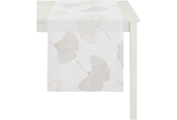 APELT Loft Style Läufer creme 48x140, Pflanzenmuster beige