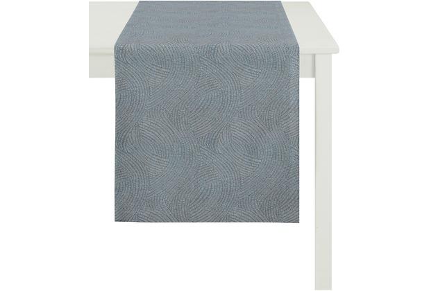 APELT Loft Style Läufer hellblau 48x140