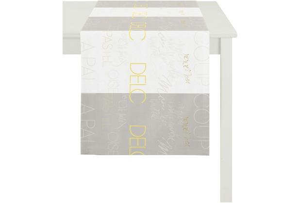 APELT Loft Style Läufer weiß/beige/gelb 44x140