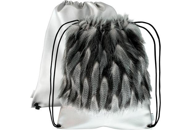APELT Loft Style Matchbag grau/anthrazit 42x50