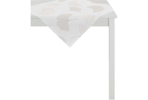 APELT Loft Style Tischdecke creme 90x90