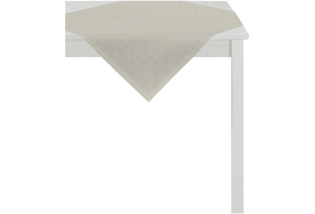 APELT Loft Style Tischdecke elfenbein 85x85