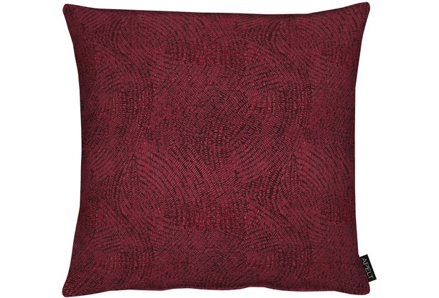APELT Modern Luxury Kissen bordeaux 48x48 cm
