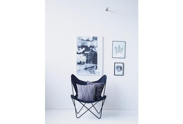 APELT Modern Luxury Kissenhülle grau 46x46 cm