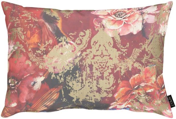 APELT Modern Luxury Kissenhülle rot / bordeaux 41x61 cm