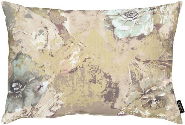 APELT Modern Luxury Kissenhülle taupe 41x61 cm