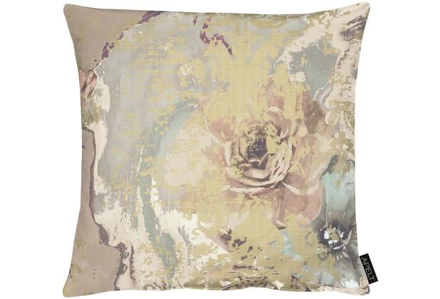 APELT Modern Luxury Kissenhülle taupe 46x46 cm