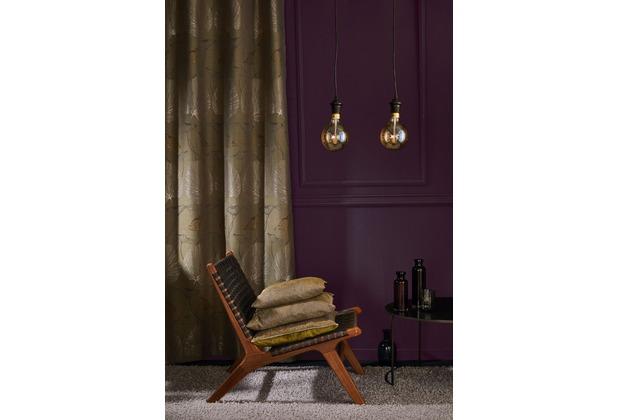 APELT Modern Luxury Ösenschal grün 135x245 cm