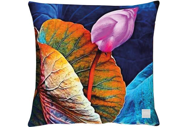 APELT Outdoor Kissen bunt / multi 45x45 cm, Blüte