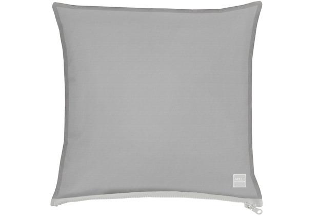 APELT Outdoor Kissen grau 39x39 cm