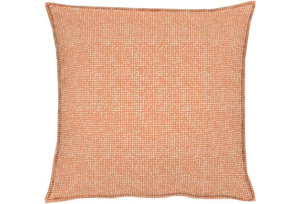 APELT OUTDOOR Kissen orange 48x48, Punktemuster