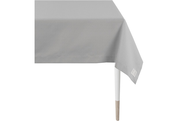 APELT Outdoor Tischdecke grau 150x250 cm