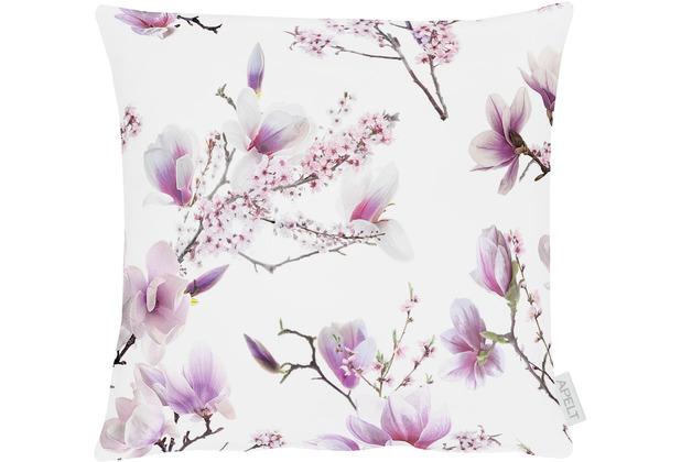 APELT Springtime Kissenhülle rosa / fliefer 40x40 cm