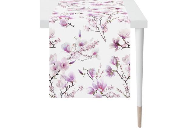 APELT Springtime Läufer rosa / fliefer 48x140 cm