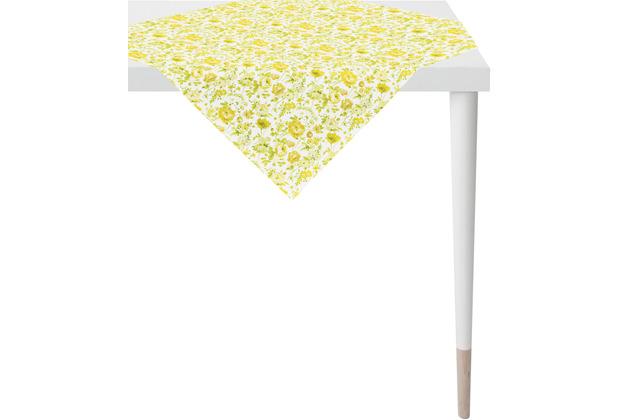 APELT Springtime Tischdecke gelb 100x100 cm