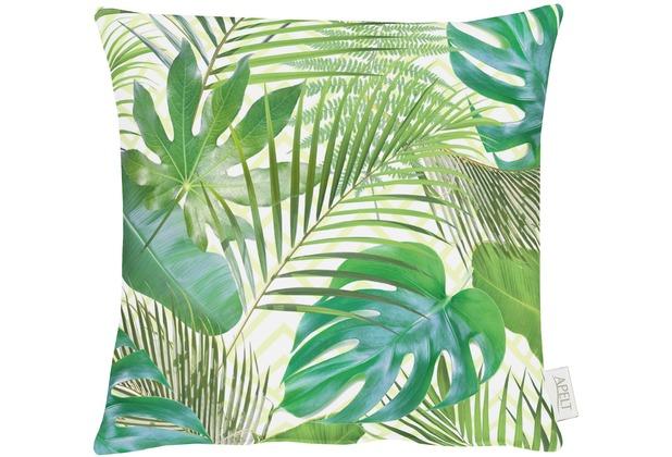 APELT Summer Garden Kissen grün 39x39, Pflanzen