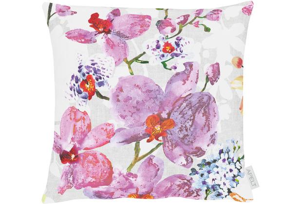 APELT Summer Garden Kissen rose / flieder 39x39 cm